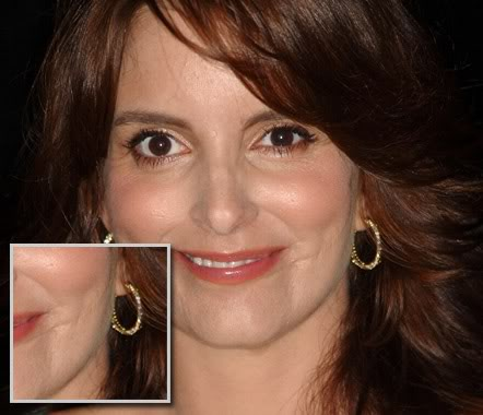 The Truth About Tina Fey's Facial Scar
